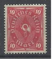 Allemagne N° 211 Neuf Avec Charnière De 1922 - Nuevos