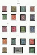 Allemagne Timbres De 1922 - Alemania