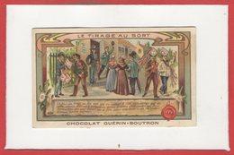CHROMOS - Chocolat GuérIn Boutron - Traditions Et Coutumes - Le Tirage Au Sort - Guerin Boutron