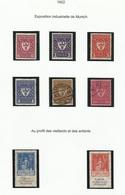 Allemagne N° 214 à 219 + 237 238 De 1922 - Alemania