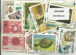 Lot De 200  Timbres Du Vietnam - Vietnam