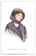 "Cpa...illustrateur Marjorie Mostyn...""a Dream Of Fair Women""... - Illustrateurs & Photographes"