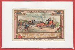 CHROMOS - Chocolat GuérIn Boutron - Traditions Et Coutumes - Courses D'Automobiles - Guerin Boutron