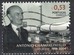 Portugal 2018 Oblitéré Used Entrepreneur António De Sommer Champalimaud Industriel Banquier SU - 1910-... République