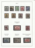 Allemagne N° 81 à 95 Oblitérés De 1905-11 - Usados