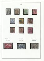 Allemagne N° 51 à 63 Oblitérés De 1900 - Usados