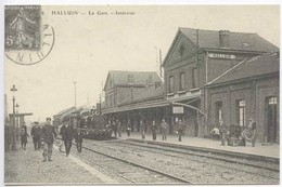 HALLUIN : La Gare - Interieur - France