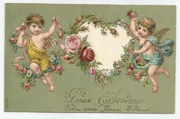 Doux Souvenir - Engelen / Anges - Ca 1910 - Anges