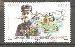 France 2017 : Georges Guynemer N° 81 Oblitéré - Airmail