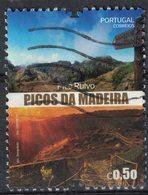 Portugal 2017 Oblitéré Used Picos Da Madeira Pico Ruivo Reliefs De Madère SU - Madeira