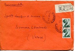 Italia (1966) - Raccomandata Da Mazara Del Vallo (TP) - 6. 1946-.. Repubblica