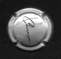 CAPSULE De JEROBOAM De Champagne  Pascal WALCZAK Les Riceys (10) Mot Champagne En Noir Sur Fond OR (largeur 3.5 Cm) - Champagne