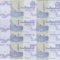 EGYPT 25 PT. PIASTRES 1993 P-57 SIG/Salah Hamed #18 LOT X10 UNC NOTES */* - Egitto