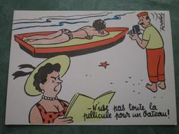 ROLDI - N'use Pas Toute La Pellicule Pour Un Bateau ! (variante Couleurs) - Künstlerkarten
