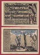 Allemagne 50 Pfenning Stadt Aschersleben  Dans L 'état N °5481 - [ 3] 1918-1933 : República De Weimar