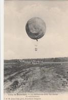 Camp De Brasschaet , Brasschaat , La Manoeuvre Avec Les Cordes De Rabattement ,  Ballon D'observation ,( N° 72 , Jules - Manoeuvres