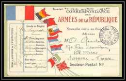 42313 Carte Postale En Franchise 1915 Secteur 206 Guerre 1914/1918 War Postcard - Marcophilie (Lettres)