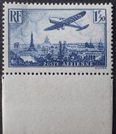 R1615/1481 - 1936 - POSTE AERIENNE - AVION SURVOLANT PARIS - N°9 NEUF** BdF - Luftpost