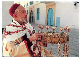 TUNISIE - Sidi Bou Said - Le Marchand De Jasmin - Ed. CARTHAGE, Tunis - 1974 - Tunisie