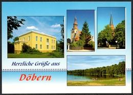 D1810 - TOP Döbern - Verlag Bild Und Heimat Reichenbach - Qualitätskarte - Döbern