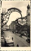 Photo Cp Rosenheim Im Alpenvorland Oberbayern, Straßenpartie Vor Dem Roi Otto Hotel - Andere