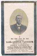 Dp. Vandorpe Karel. Wed. Casteleun Leonie. ° Gheluwe 1847 † Kortrijk 1919 - Religion & Esotericism