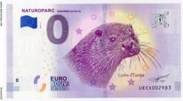 HUNAWIHR - Haut Rhin - Naturoparc - La Loutre - 2018 - EURO