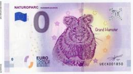 HUNAWIHR - Haut Rhin - Naturoparc - Le Grand Hamster- 2019 - EURO