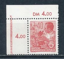 DDR 418 XII ** Geprüft Schönherr Mi. 12,- - Neufs