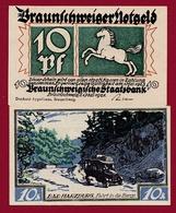 Allemagne 10 Pfenning Stadt Braunschweiger  Dans L 'état N °5507 - Collections