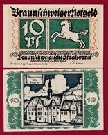 Allemagne 10 Pfenning Stadt Braunschweiger  Dans L 'état N °5509 - Collections