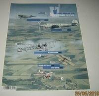 Ongetand Blok 235** Oude Belgische Vliegtuigen 4588/92**/ Non-Dentelé  Vol à Travers Le Temps -Anciens Avions Belges - Belgium