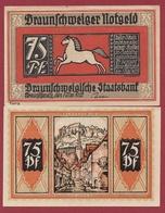 Allemagne 75 Pfenning Stadt Braunschweiger  Dans L 'état N °5512 - Collections