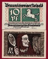 Allemagne 10 Pfenning Stadt Braunschweiger  Dans L 'état N °5513 - Collections