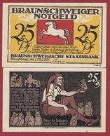Allemagne 25 Pfenning Stadt Braunschweiger  Dans L 'état N °5514 - Collections