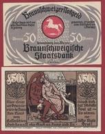 Allemagne 50 Pfenning Stadt Braunschweiger  Dans L 'état N °5515 - Collections