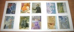 Boekje 138** Théo Van Rysselberghe  + Ongetand - Carnet 138:  Non-Dentelée / Imperforated Sheet - Belgium