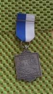 Medaille :Netherlands  -  Zwarte Vennentocht - Nieuw-leusen. 31-5-1986   / Vintage Medal - Walking Association . - Nederland