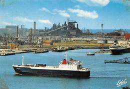 Dunkerque Port Bateau Transcontainer - Dunkerque