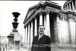 JEAN TIBERI Maire Du 5ème Arrondissement De Paris Vers 1990 Panthéon - Famous People