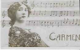 CPA FANTAISIE  FAN17 - CARMEN - Opera