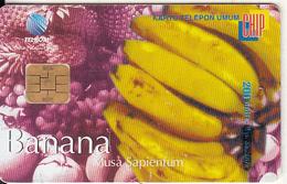 INDONESIA(chip) - Banana, Telkom Telecard 200 Units, Tirage 5000, Used - Indonesien