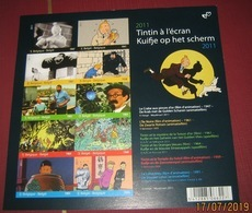 BLOK 192 Kuifje Op Het Scherm** Ongetand + Genummerd -Tintin à L'écran Non-Dentelée + Numeroté - Imperforated 4165/74** - Belgium