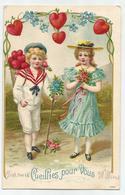 Cueillies Pour Vous - Reliëf Embossed Gaufrée - 1907 - Feiern & Feste