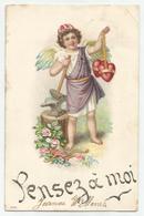 Pensez à Moi - Reliëf Embossed Gaufrée - 1907 - Fêtes - Voeux