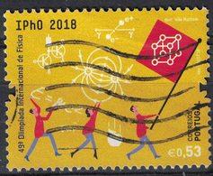 Portugal 2018 Oblitéré Used 49e Olympiade Internationale De Physique SU - 1910-... République
