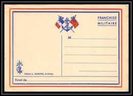 43198 Carte Postale En Franchise Neuve 2 Drapeaux + Ancre FM Guerre 1914/1918 War Postcard - Marcophilie (Lettres)