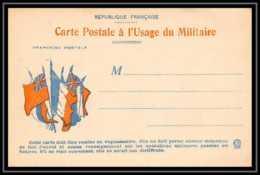 43199 Carte Postale En Franchise Neuve 6 Drapeaux à Gauche Guerre 1914/1918 War Postcard - Marcophilie (Lettres)