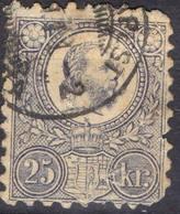 HONGRIE !  Timbre Ancien De 1871 N°6 ! ANNULATION De BUDAPEST - Hongrie