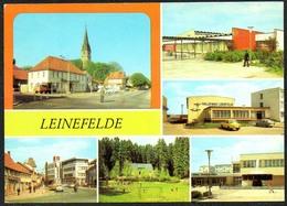 D1847 - Leinefelde Kr. Worbis HO Gaststätte Eichsfelder Hof Und Stadt Leinefelde - Verlag Bild Und Heimat Reichenbach - Leinefelde